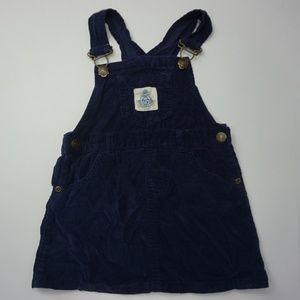 Chaps Baby Toddler Corduroy Overall Jumper Skirt
